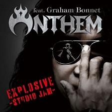 ANTHEM Feat Graham Bonnet - Explosive Studio jam COVER