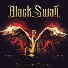 BLACK SWAN - SHAKE THE WORLD cover