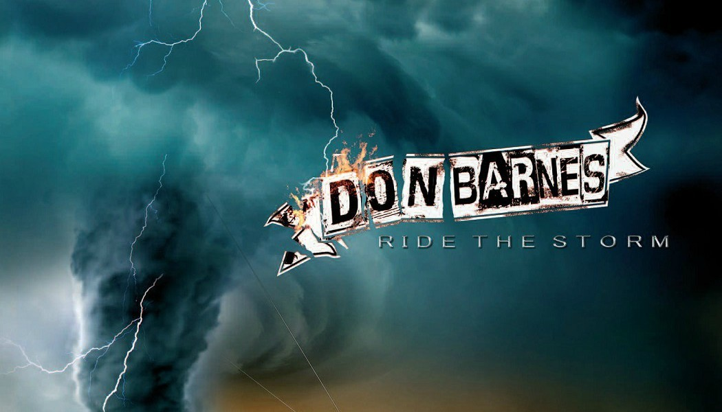 "DON BARNES ""Ride The Storm"" (MelodicRock Records, 2017)"