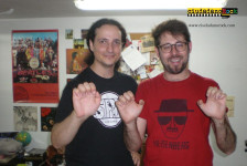 Entrevista a Ángel Belinchón y Carlos Álvarez (Dry River).