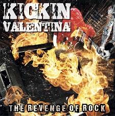 KICKIN VALENTINA - THE REVENGE OF ROCK cover