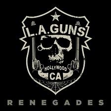 L.A GUNS - RENEGADES cover