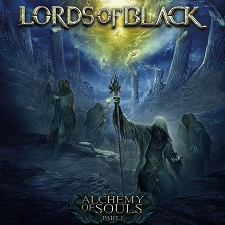 LORDS OF BLACK - Alchemy Of Souls Part I cover