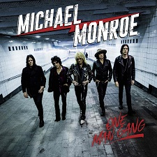 MICHAEL MONROE - ONE MAN GANG SILVER cover