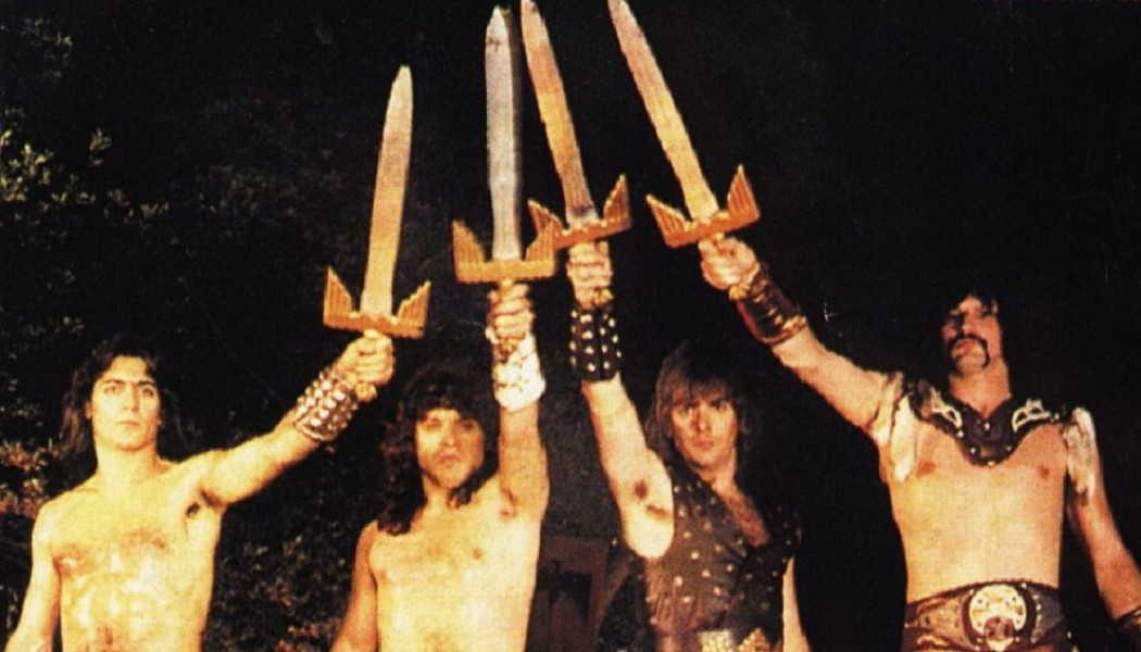 MANOWAR «Into Glory Ride» (Megaforce Records, 1983)