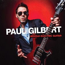 PAUL GILBERT - Behold electric guitar (cover)