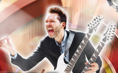 "PAUL GILBERT ""Behold Electric Guitar"" (Mascot Label Group, 2019)"