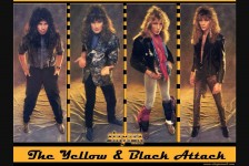 "STRYPER ""The Yellow And Black Attack"" (Enigma Records, 1984/1986)"