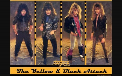 STRYPER «The Yellow And Black Attack» (Enigma Records, 1984/1986)