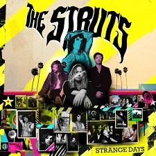 THE STRUTS - STRANGE DAYS cover