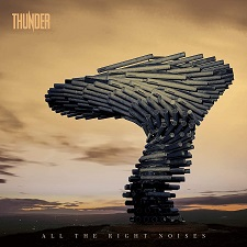 Thunder - All The Right Noises cover