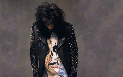 "ALICE COOPER ""Trash"" (Epic Records, 1989)"