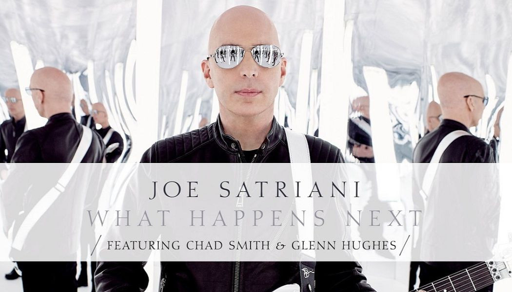 "JOE SATRIANI ""What Happens Next"" (Legacy, 2018)"